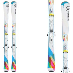 Ski Rossignol Famous 4 + fixations Xpress W 10