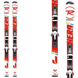 Ski Rossignol Hero Jr + fixations Kid-X 4 B76