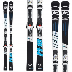 Sci Rossignol Master Hero R21 WC + attachi Spx 15 nero-bianco-blu