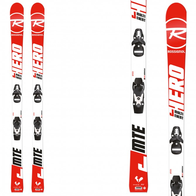 Esquí Rossignol Multi Event + fijaciones Kid-X 4 B76