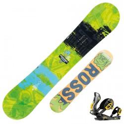 Snowboard Rossignol Trickstick Amptek + fijaciones Cobra V1 m/l