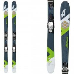 Esqui Nordica NRGY 80 FDT + Fijaciones Squirecompact 11 FDT