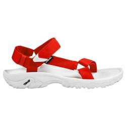 Sandale Teva Hurricane Xlt Homme blanc-rouge