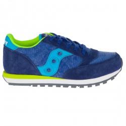 Sneakers Saucony Jazz O' Niño azul-limón