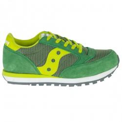 Sneakers Saucony Jazz O' Niño verde-amarillo (35.5-38)