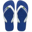 tongs Havaianas Brasil Logo royal