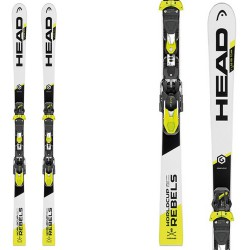 Ski Head WC Rebels iGS RD Team Sw Hrp Rdx + bindings Evo 9 AC Jr