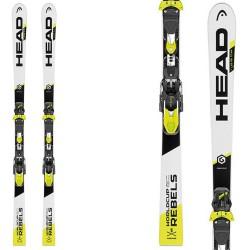 Ski Head WC Rebels iGS RD Team Sw Hrp Rdx + fixations Evo 9 AC Jr