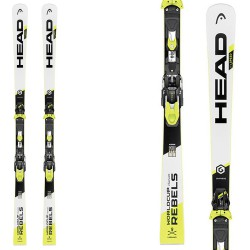 Sci Head WC Rebels iSpeed RP EVO 14 + attacchi Freeflex 14 Br 85