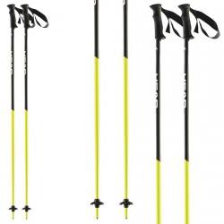 Ski poles Head Airfoil AF black-yellow