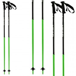 Bastoni sci Head Airfoil AF nero-verde