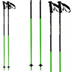 Bastoni sci Head Airfoil nero-verde