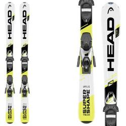 Esquí Head Supershape Team SLR2 + fijaciones SLR 4.5 (87-107)