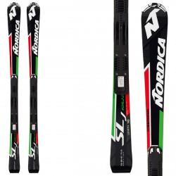 Esquí Nordica Dobermann SLJ plate + fijaciones Race 10