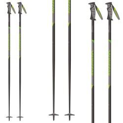 Bâtons ski Rossignol Tactic 70 gris-jaune