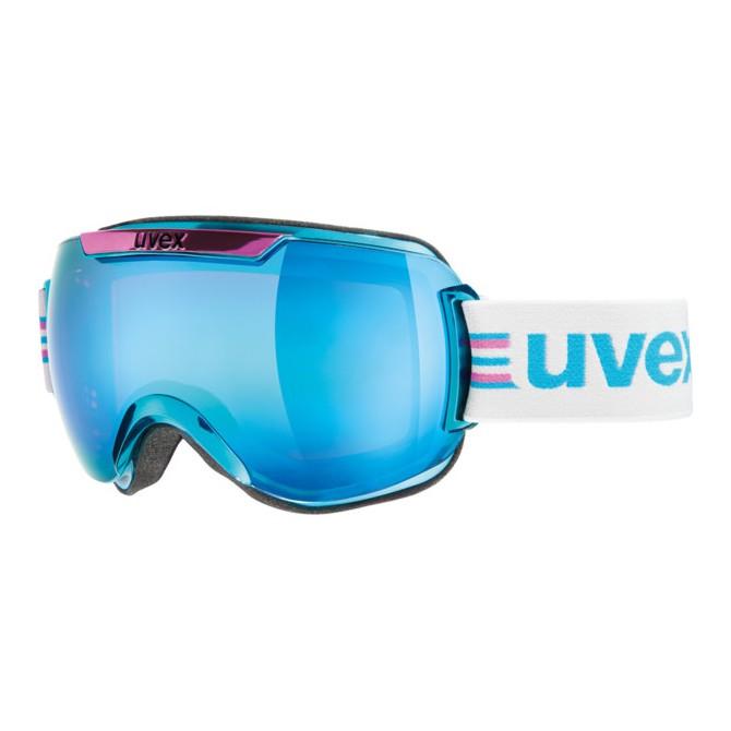 Maschera sci Uvex Downhill 2000 race bianco-nero