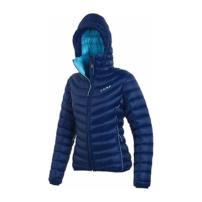 Piumino alpinismo C.A.M.P. Ed Protection blu-turchese
