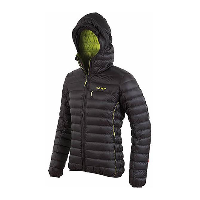 Piumino alpinismo C.A.M.P. Ed Protection nero-verde