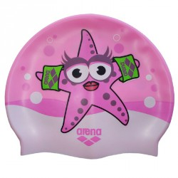 Gorro de natación Arena Awt Junior rosa