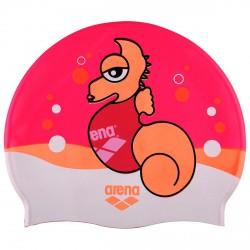 Gorro de natación Arena Awt Junior fucsia