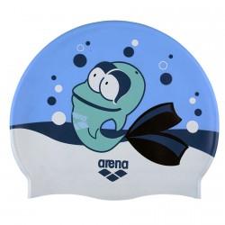 Bonnet de bain Arena Awt Junior bleu clair