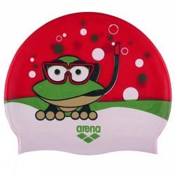 Bonnet de bain Arena Awt Junior rouge