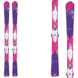 Ski Rossignol Temptation 80 W + fixations Xelium Saphir 110 B83