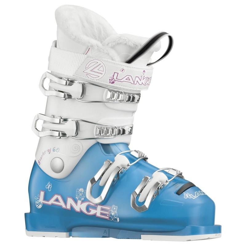 Scarponi sci Lange Starlet 60 Junior (Colore: blu trasparente-bianco, Taglia: 19)