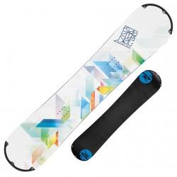 Snowboard Rossignol Alias Amptek Rsp Domes + fixations Gala