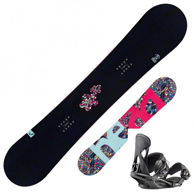 Snowboard Head Stella + attacchi Nx Fay I
