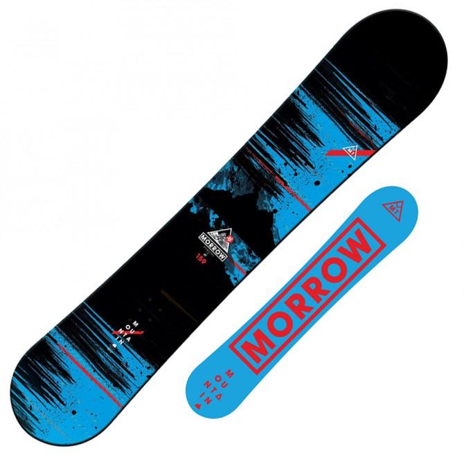 Snowboard Morrow Mountain Wide + fijaciones Sonic