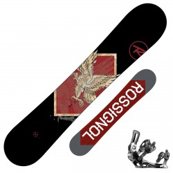 Snowboard Rossignol Circuit Amptek Wide + bindings Battle V1 xl