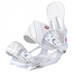 Bindings snowboard Head Nx Fay I white