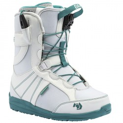 Botas snowboard Northwave Dahlia blanco-verde