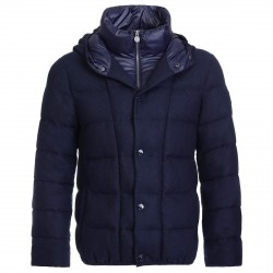 Jacket Invicta Flanella Man blue