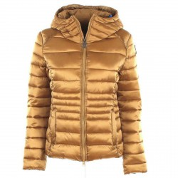 Satin down jacket Invicta Woman gold