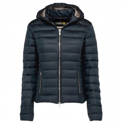 Down jacket Ciesse Aghata Woman blue-silver