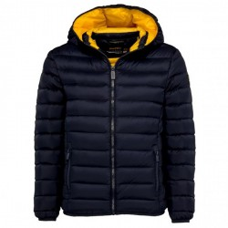 Down jacket Ciesse Franklin Junior blue-yellow (10-16 years)