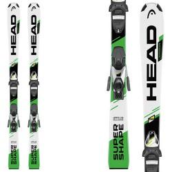 Esquí Head Supershape SLR II + fijaciones SLR 7.5 AC