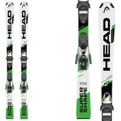 Ski Head Supershape SLR II + bindings SLR 7.5 AC