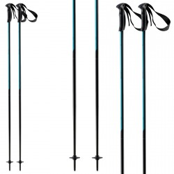Bâtons ski Head Joy noir-turquoise