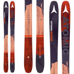 Ski Atomic Backland Fr 102 + bindings Tracker Mnc 13