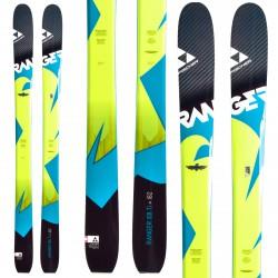 Ski Fischer Ranger 108 Ti + fixations V614