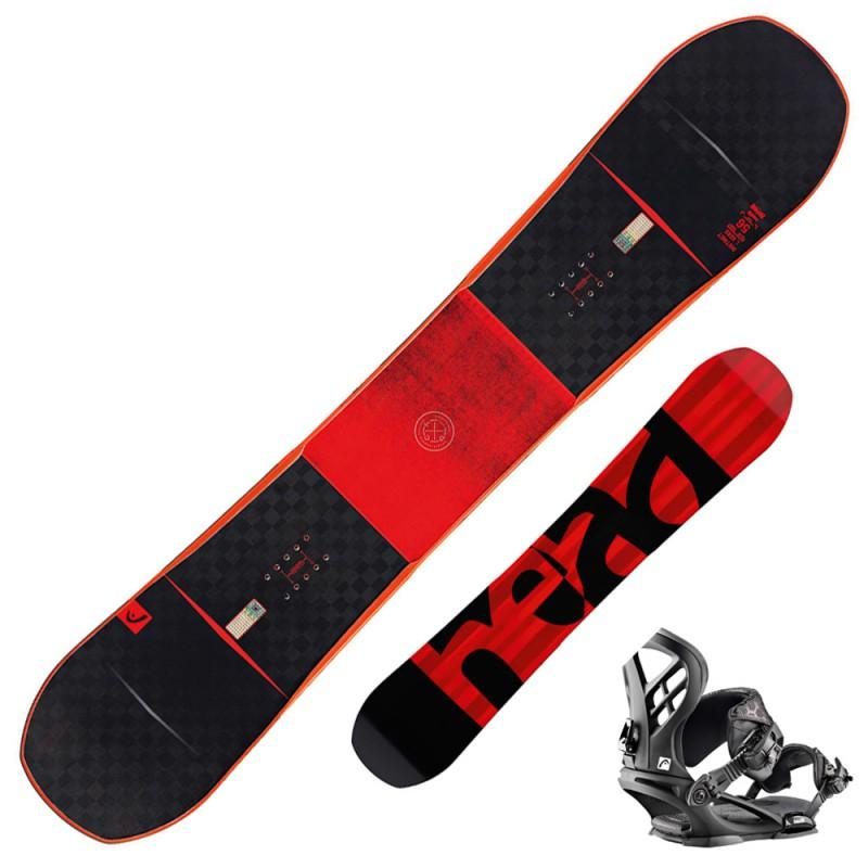 Snowboard Head Instinct Dct i Kers + attacchi Nx Five