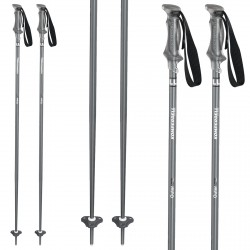 Ski poles Komperdell Outer Limit grey