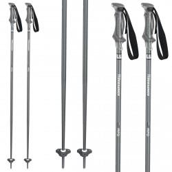 Ski poles Komperdell Outer Limit grey