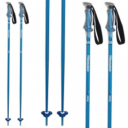 Bastones esquí Komperdell Outer Limit azul claro