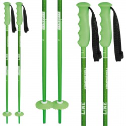 Ski poles Komperdell Offense green