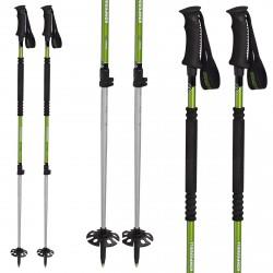 Bastones esquí montañismo Komperdell T2 Ascent Ti