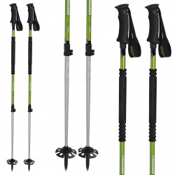 Mountaineering ski poles Komperdell T2 Ascent Ti